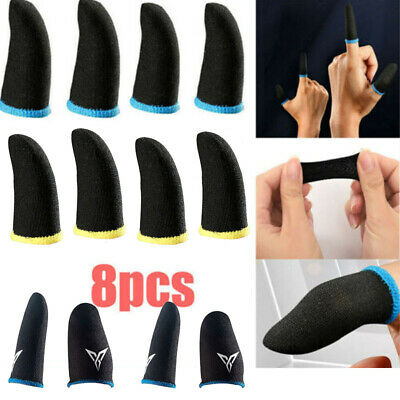 AU2.95 • Buy Sweat-proof Fingers Gloves Touch Screen Game Controller PUBG Gaming Sleeve