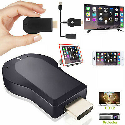 £11.59 • Buy 4K 1080P HDMI Wireless Adapter WiFi Dongle Display Screen Mirroring Receiver New