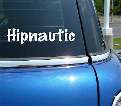 £1.84 • Buy Hipnautic Boat Ship Vacation Nautical Name Ocean Decal Sticker Funny Car Truck