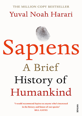 AU20.94 • Buy Sapiens: A Brief History Of Humankind