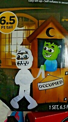 $ CDN156.71 • Buy Large Monsters Outhouse Halloween Inflatable Light Up Yard Decor NEW