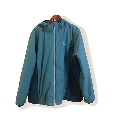 $39.99 • Buy Columbia Men's Thermal Coil, Hooded Jacket Size 3X, Blue
