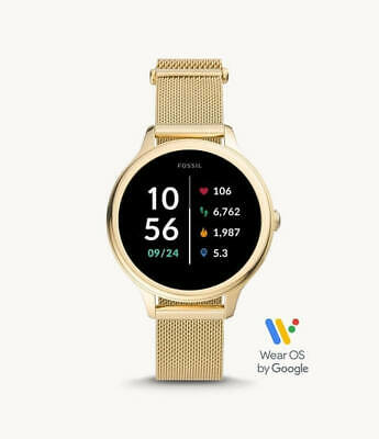 AU399 • Buy Fossil Gen 5E Smartwatch Gold-Tone Stainless Steel (FTW6069)