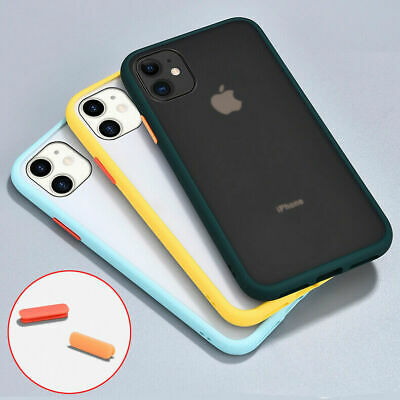 AU9.76 • Buy Case For IPhone 6 6S 7 8 Plus 11 12 Pro Max XS XR Shockproof Hard PC Back Cover