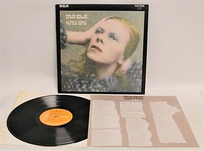£4.99 • Buy DAVID BOWIE 'Hunky Dory' 1971 Vinyl LP On RCA Victor With Insert 3T/3T - N48