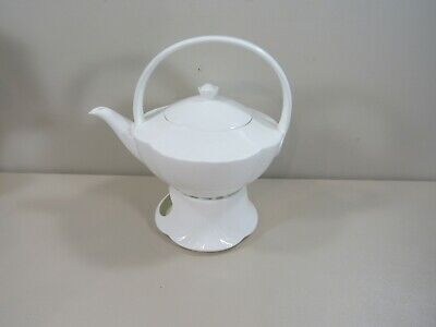 £24.44 • Buy Villeroy & Boch Arco Weiss White Teapot And Warmer