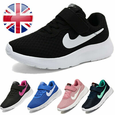 £9.99 • Buy Girls Boys Running Trainers Lightweight School Sports Shoes Kids Sneakers Size