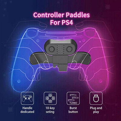 AU21.27 • Buy New Wireless Extension Back Button Game Controller Key For PS4 Accessories