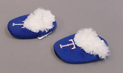 £5.42 • Buy Texas Rangers Unisex Forever Collectibles Bootie Slippers KB8 Blue Size XL