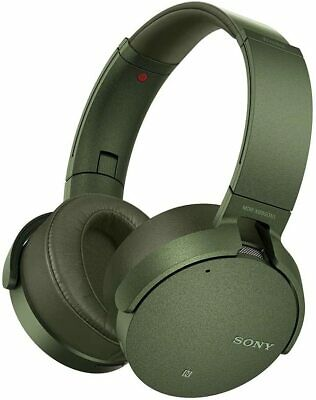AU408.33 • Buy Sony MDR-XB950N1 Extra Bass Wireless Headphones Noise-Canceling Green Brand New