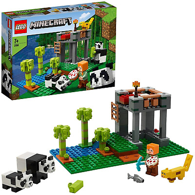AU27.67 • Buy LEGO Minecraft The Panda Nursery 21158 Construction Toy For Kids, Great  Fans Of