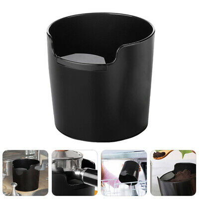 AU15.99 • Buy New Coffee Knock Bin Espresso Grinds Tamper Waste Box Container Tamp Tube AU