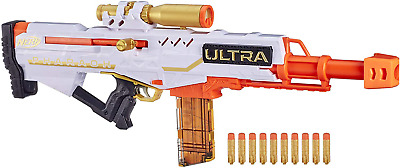 AU93.99 • Buy Nerf Ultra Pharaoh Blaster With Premium Gold Accents And 10 Special Edition Gold