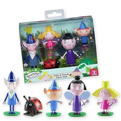 £13.99 • Buy Ben And Holly's Little Kingdom 5 Figure Pack Comes With Nanny Plum Wise Old Elf