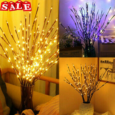 £5.79 • Buy Romantic Twigs LED Twig Light With Flower Effects Branch Decorative Fairy Lights