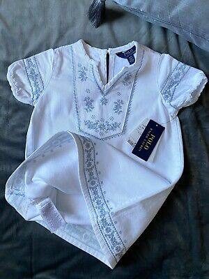 £15 • Buy New Polo Ralph Lauren Girls Dress With Tags Size: 3 Years