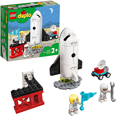 AU27.82 • Buy LEGO 10944 DUPLO Town Space Shuttle Mission Rocket Toy, Set For Preschool Toddle
