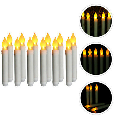 £17.34 • Buy 12pcs Romantic Candle Lights LED Candle Lamps Electronic Lamps