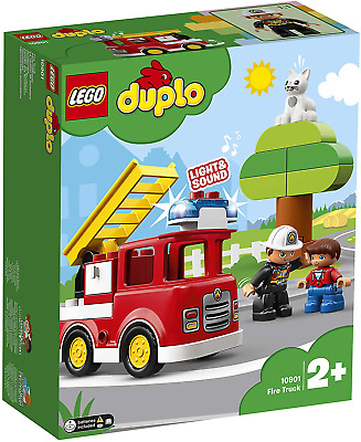 AU25.52 • Buy LEGO DUPLO Town Fire Truck 10901 Building Blocks, Vehicle Toy For Toddlers, 2019