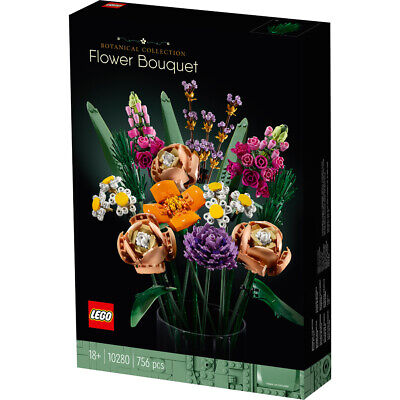 £44.99 • Buy Lego 10280 Flower Bouquet Botanical Collection Building Set Toy Gift Ages 18+