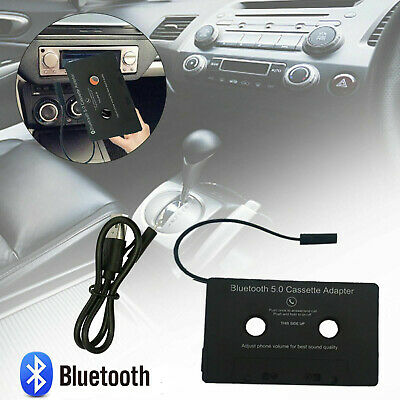 £13.93 • Buy Bluetooth 5.0 Car Audio Tape Cassette Adapter To Aux For Iphone Ipod MP3 Radio