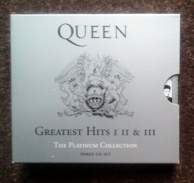 £15 • Buy QUEEN The Platinum Collection: Greatest Hits I, II & III, 3CD's