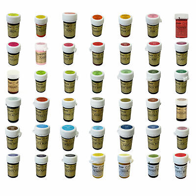 £4.42 • Buy Sugarflair Concentrated Food Colouring Paste Gel Colours Spectral Pastel 25g