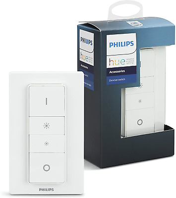 AU43.04 • Buy Philips Hue Smart Wireless Dimmer Switch With Remote, Installation-Free, Exclusi