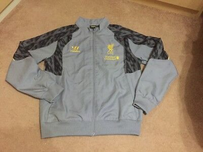 £14.99 • Buy Liverpool Training Track Top Jacket Size XLB Gray Colour Warrior