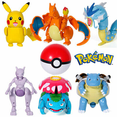 AU23.99 • Buy Deformable Pokemon Ball Pokeball Kids Figures Action Pop Toys Collection Gifts