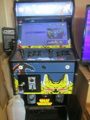 £550 • Buy 2 Player Arcade Machine Space Invaders Coin Mech 3188 Retro Video Games + Stool