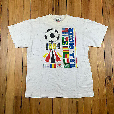 £20.88 • Buy Vintage 1991 World Cup USA '94 Soccer Medium T-shirt Single Stitch/Made In USA