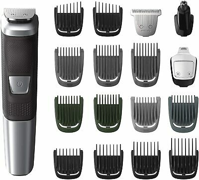 AU89 • Buy Philips Mg5750/49 Multigroom 5000 Trimmer 18 Pieces - Face, Hair & Body New