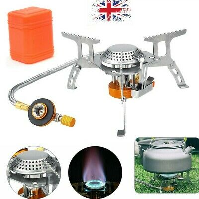 £11.99 • Buy 3500W Portable Gas-Burner Fishing Outdoor Cooking Camping Picnic Cook Stove