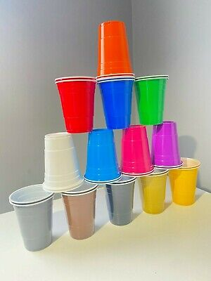 £12.75 • Buy American 16oz Beer Pong Party Plastic Red Cups