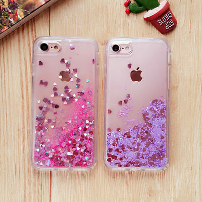 AU8.99 • Buy Bling Quicksand Case For IPhone 8 7 6/6S Plus 5 12 11 Pro X XR XS Max Soft Cover