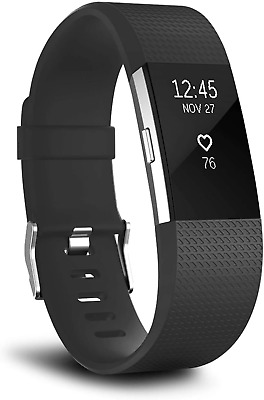 AU11.72 • Buy T Tersely Watch Band Strap For Fitbit Charge 2, Classic Soft TPU Silicone Adjust
