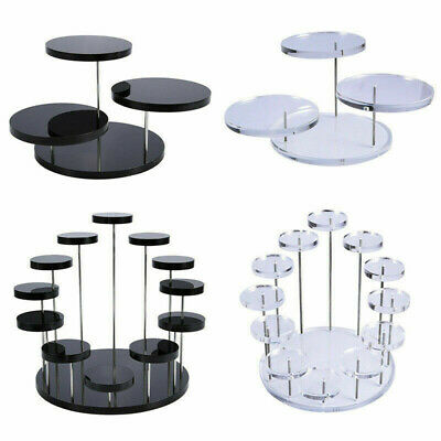 £9.79 • Buy Cupcake Holder Acrylic Display Stand For Jewelry Cake Dessert Rack Party Decor