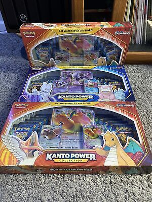 $500 • Buy Pokemon XY Evolutions Kanto Power Collection Box Set - Lot Of 3 Factory Sealed
