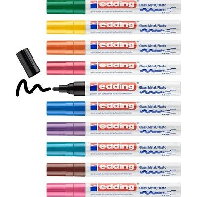 £2.43 • Buy Edding Paint Markers | Colour And Nib Options For All Surfaces | Made In Japan