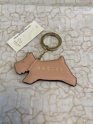 £14.99 • Buy Radley Jump Leather Keyring Pale Pink, New With Tags- Free Postage