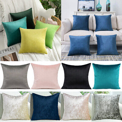 £5.99 • Buy Velvet Throw Pillow Case Floor Square Cushion Covers Home Bed Decorative Lot