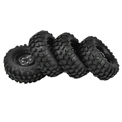 £19.59 • Buy 4PCS 1:10 RC Rock Crawler 1.9  108mm Tires And Wheels For Axial SCX10 RC4WD D90