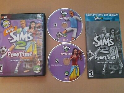 £9.80 • Buy THE SIMS 2 Freetime Expansion Pack Complete PC CD-ROM - 2 Discs With Manual