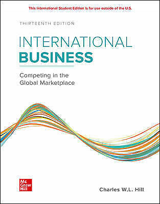 £45.88 • Buy ISE International Business Competing In The Global Marketplace, Hill, Charles,
