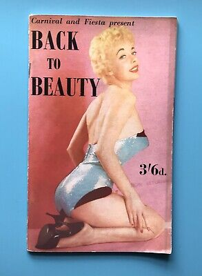 £5.75 • Buy C1960  BACK To BEAUTY  MAGAZINE, 72 Pages Of MONO PHOTOGRAPHS