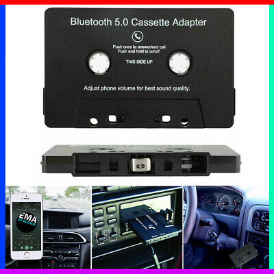 £13.90 • Buy Bluetooth CAR AUDIO TAPE CASSETTE ADAPTER RECEIVER FOR IPHONE IPOD CD MP3 RADIO