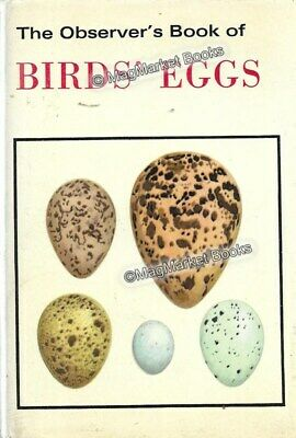 £9.50 • Buy THE OBSERVER'S BOOK OF BIRDS' EGGS By G Evans (1974)