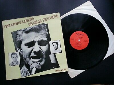 £8.99 • Buy Charlie Feathers – The Living Legend Charlie Feathers (1974 VINYL ALBUM)