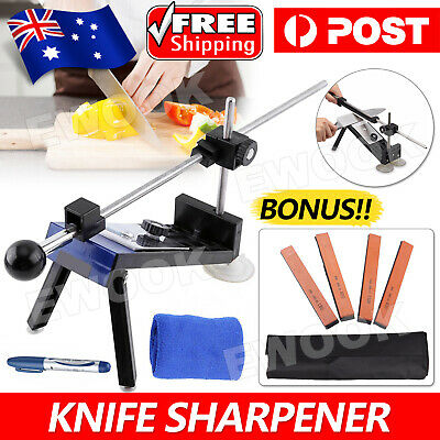 AU36.95 • Buy Professional Edge Knife Sharpening Fix-angle Sharpener System With 4 Stones-NEW